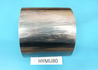 China Mu - Metal Strip Soft Hard Magnetic Materials , Low Coercive Force Magnetic Core Material supplier