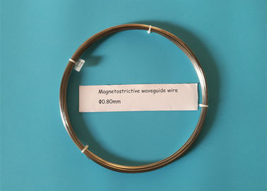 China Waveguide Magnetostrictive Wire Diameter 0.80mm Working Temperature Below 300°C factory